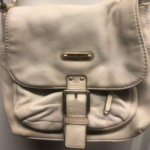 Michael Kors cream crossbody bag